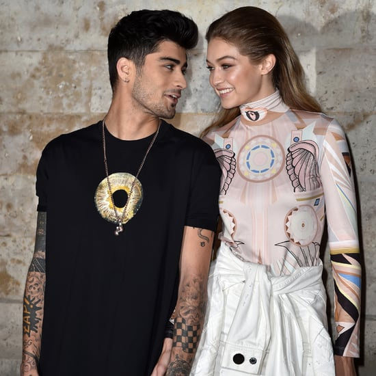Gigi Hadid and Zayn Malik at Paris Fashion Week 2016