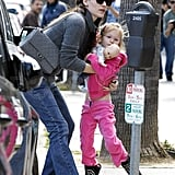 Jennifer Garner Has Sidekick Violet Along For Saturday Errands