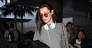 Exactly What Bella Hadid and the Victoria's Secret Angels Wore on the Plane to Shanghai