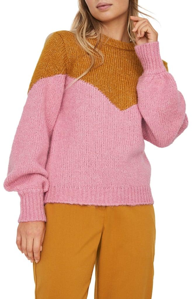 Vero Moda Winnie Intarsia Sweater