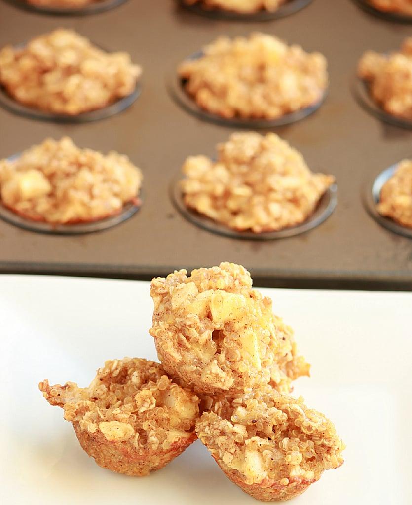 Apple Cinnamon Quinoa Breakfast Bites