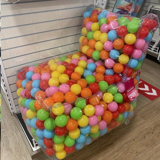 HomeGoods Is Selling a Colorful Ball Pit Chair!