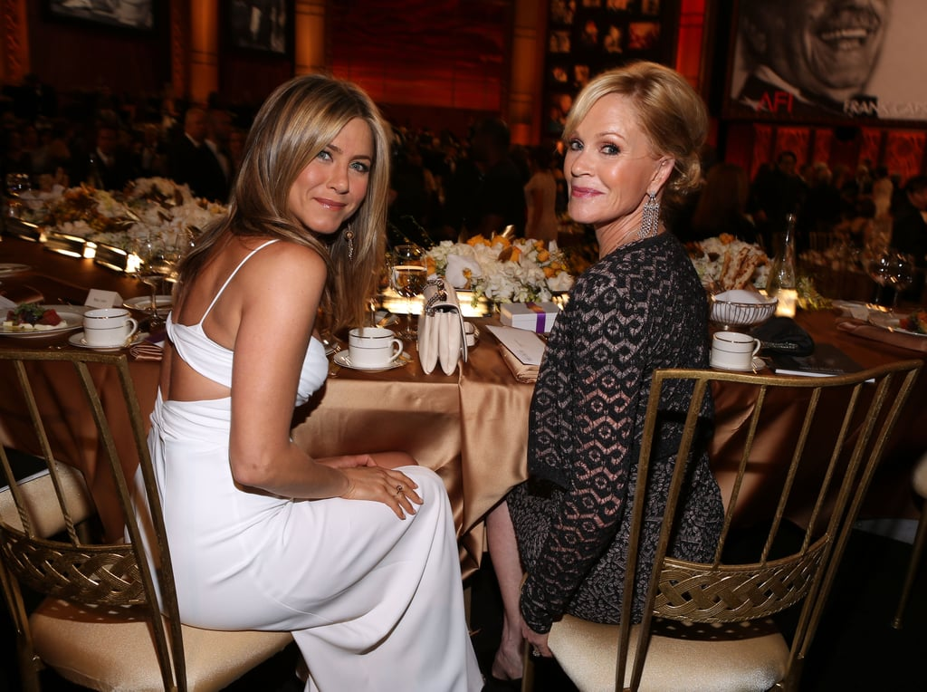 Jennifer Aniston and Melanie Griffith attended an AFI gala in LA.