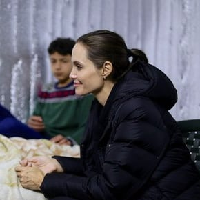 Angelina Jolie Speaks Up For Syrian Refugee on UNHCR trip