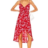 Camila Coelho Robbie Midi Dress in Pink Flora