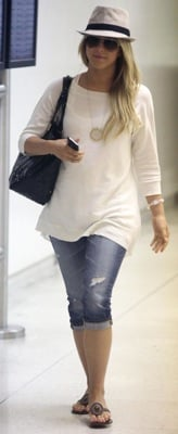 Julianne Hough Wears a House of Harlow Necklace