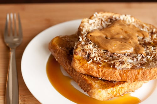 Baked Coconut Cream French Toast