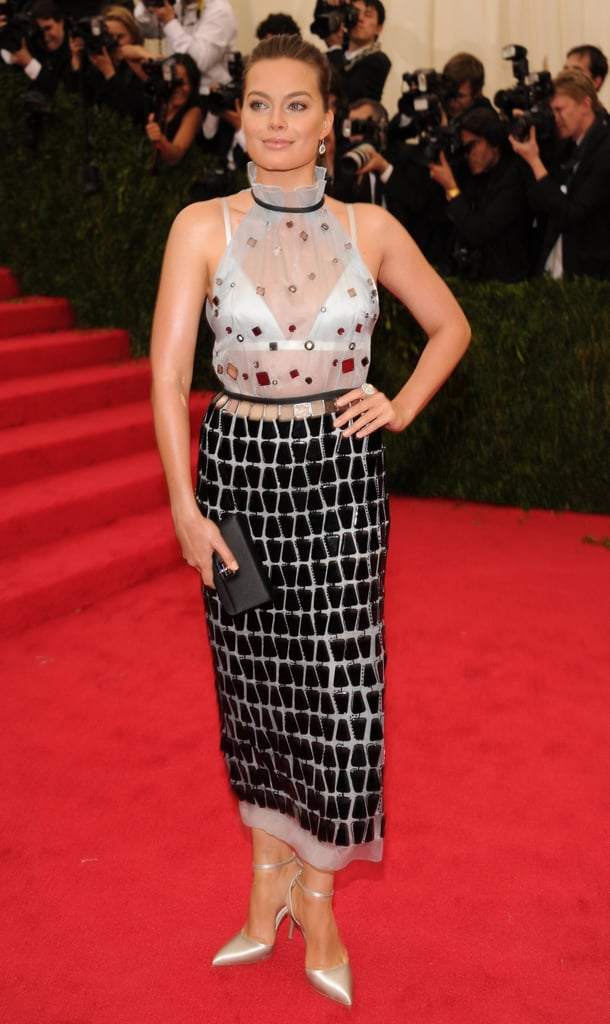 Margot Robbie In Prada At The 2014 Met Gala Popsugar