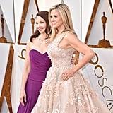Mira Sorvino and Ashley Judd at the 2018 Oscars
