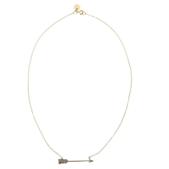 Annina Vogel Small Arrow Necklace, $1,520