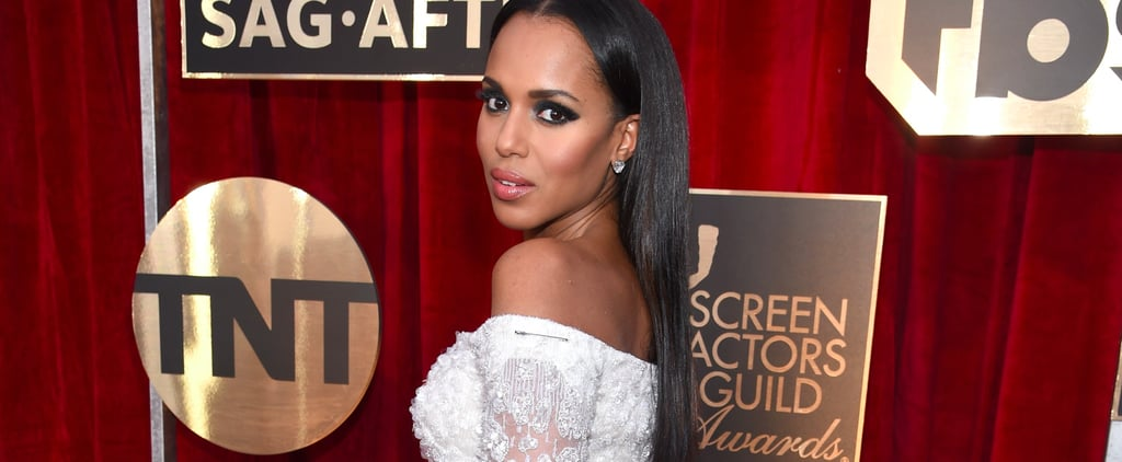 Kerry Washington Shows Solidarity by Accessorizing Her SAG Awards Look With a Safety Pin