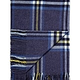 Brora Scottish Lambswool Checked Blanket