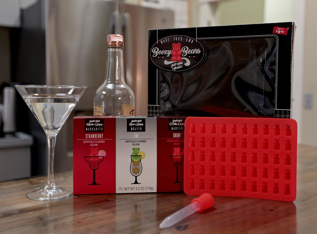 Who says gummy bears are just for kids? Walmart is releasing tons of new adult-themed gift sets for the holidays, including this amazing DIY Boozy Bears Gummy Making Kit ($10). The set comes with a sheet of gummy bear molds and three classic cocktail flavors: margarita, mojito, and martini. The only thing it doesn't come with is the alcohol, so you're free to experiment with different flavor combinations if you'd like. Whether you want to add them to your drink for extra flavor or just snack on them right out of the mold, it's up to you! The kit hits stores Nov. 1, so get ready to get boozy.      Related:                                                                                                           18 Hysterical Gifts For Thirsty White Claw Fanatics