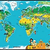 LeapReader Interactive World Map