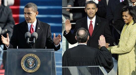 Sugar Bits — Barack Obama Sworn in as US President!