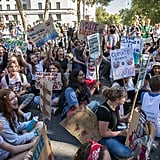 Students Protesting at the Global Climate Strike 2019