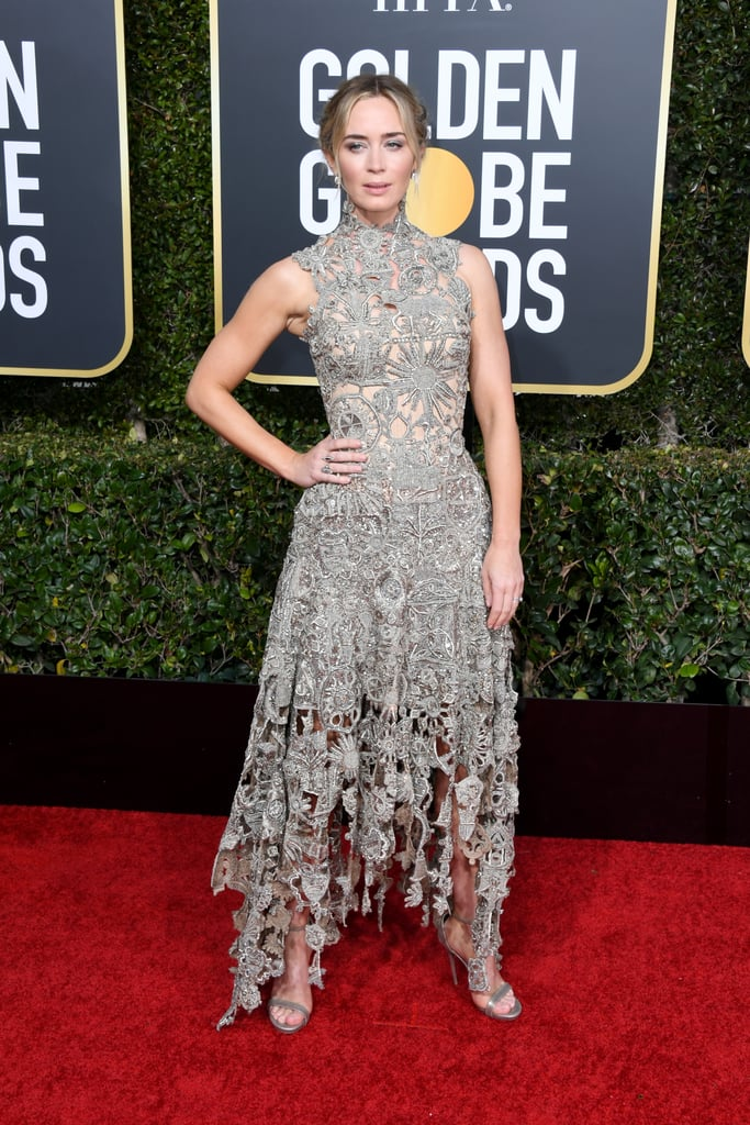 Emily Blunt at the 2019 Golden Globes