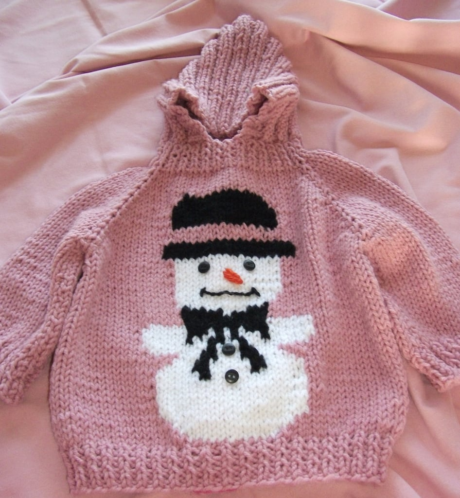 My Sister and I Snowman Sweater