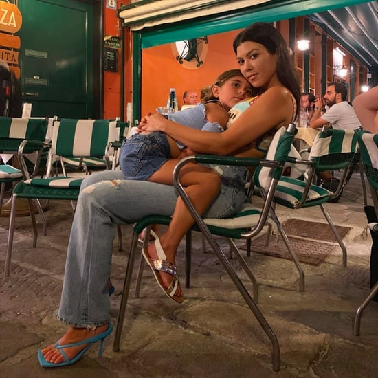 Kourtney Kardashian Italy Holiday Pictures August 2019