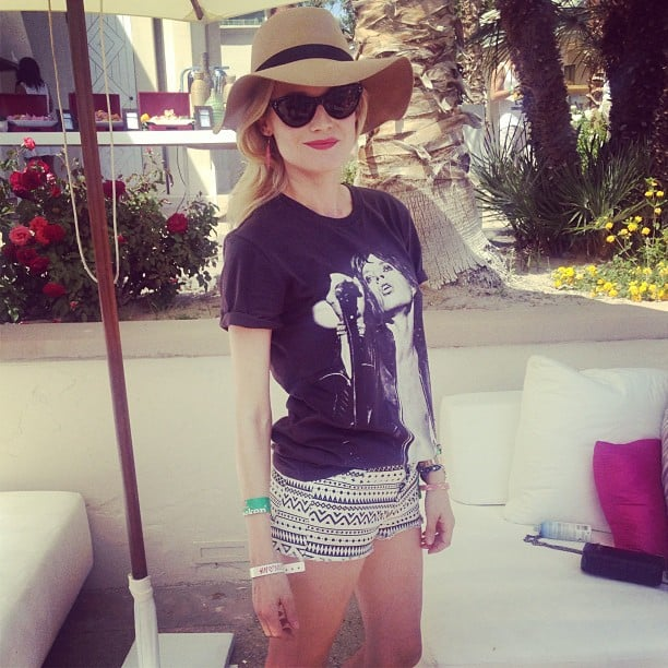 Diane Kruger was an indie dream at Coachella this year.