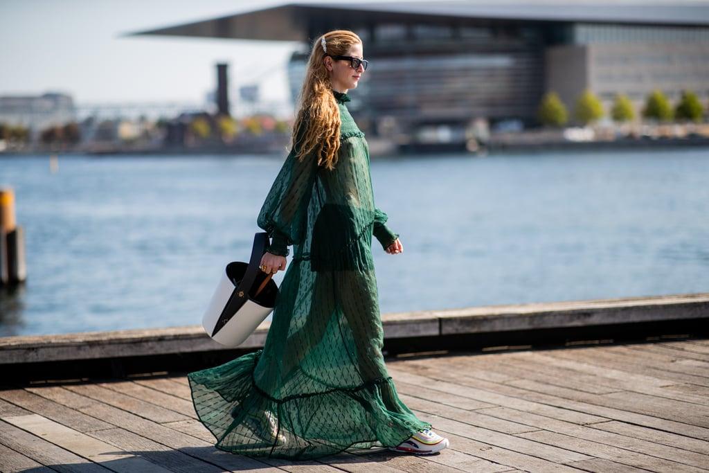Sheer Dress Trend at Fashion Week Spring 2019