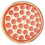 Red & White Pizza Round Fringe Beach Towel ($52)