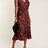 Proenza Schouler Floral Jacquard Ruffle-Trimmed Dress