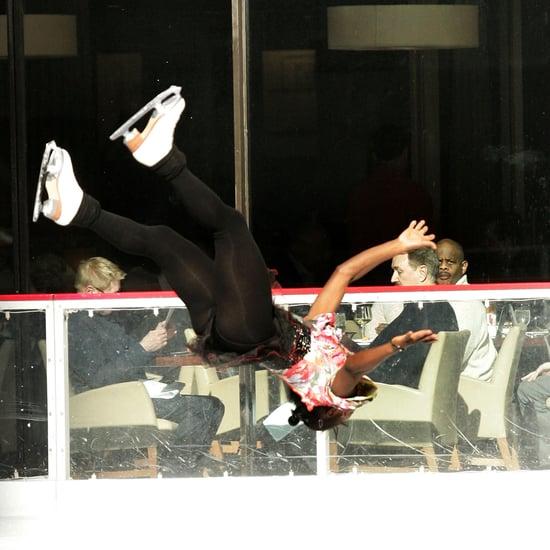 Figure Skater Surya Bonaly Backflip Video
