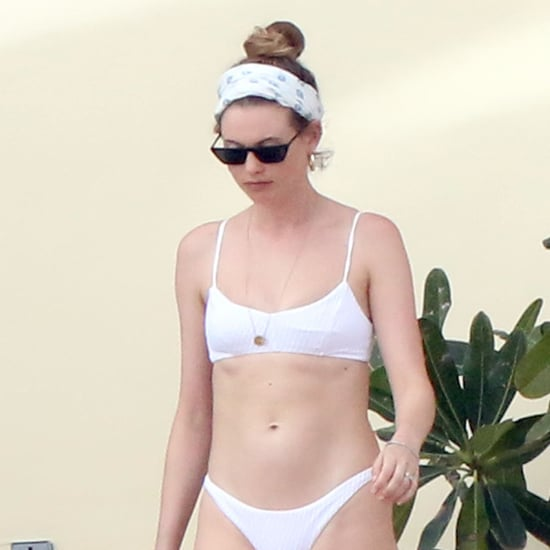 Behati Prinsloo in White Bikini January 2019