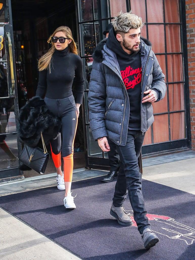 Zayn Malik and Gigi Hadid Out in NYC January 2016 ...