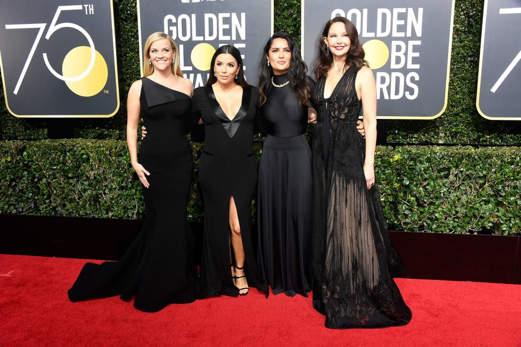 Pictured: Reese Witherspoon, Eva Longoria, Salma Hayek, and Ashley Judd
