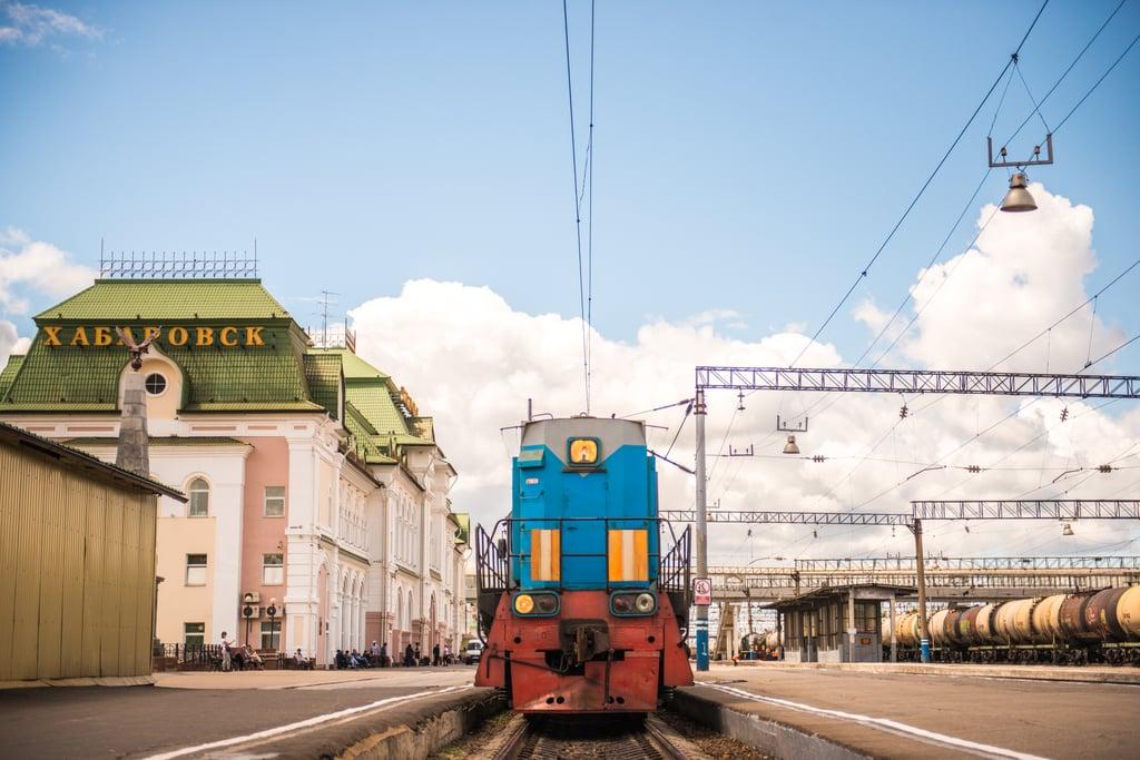 Ride the Trans-Siberian Railway