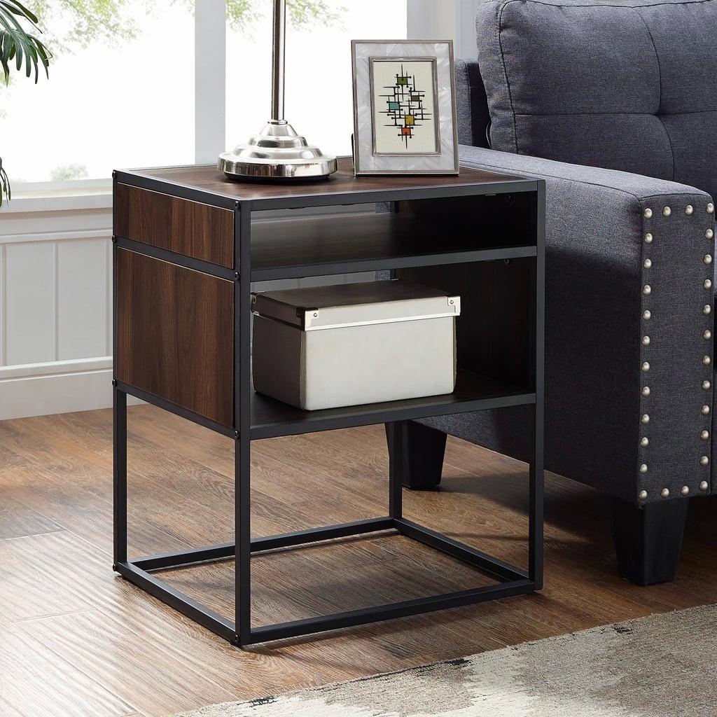 Metal And Wood Side Table Best Target Living Room Furniture With Storage Popsugar Home Uk Photo 21