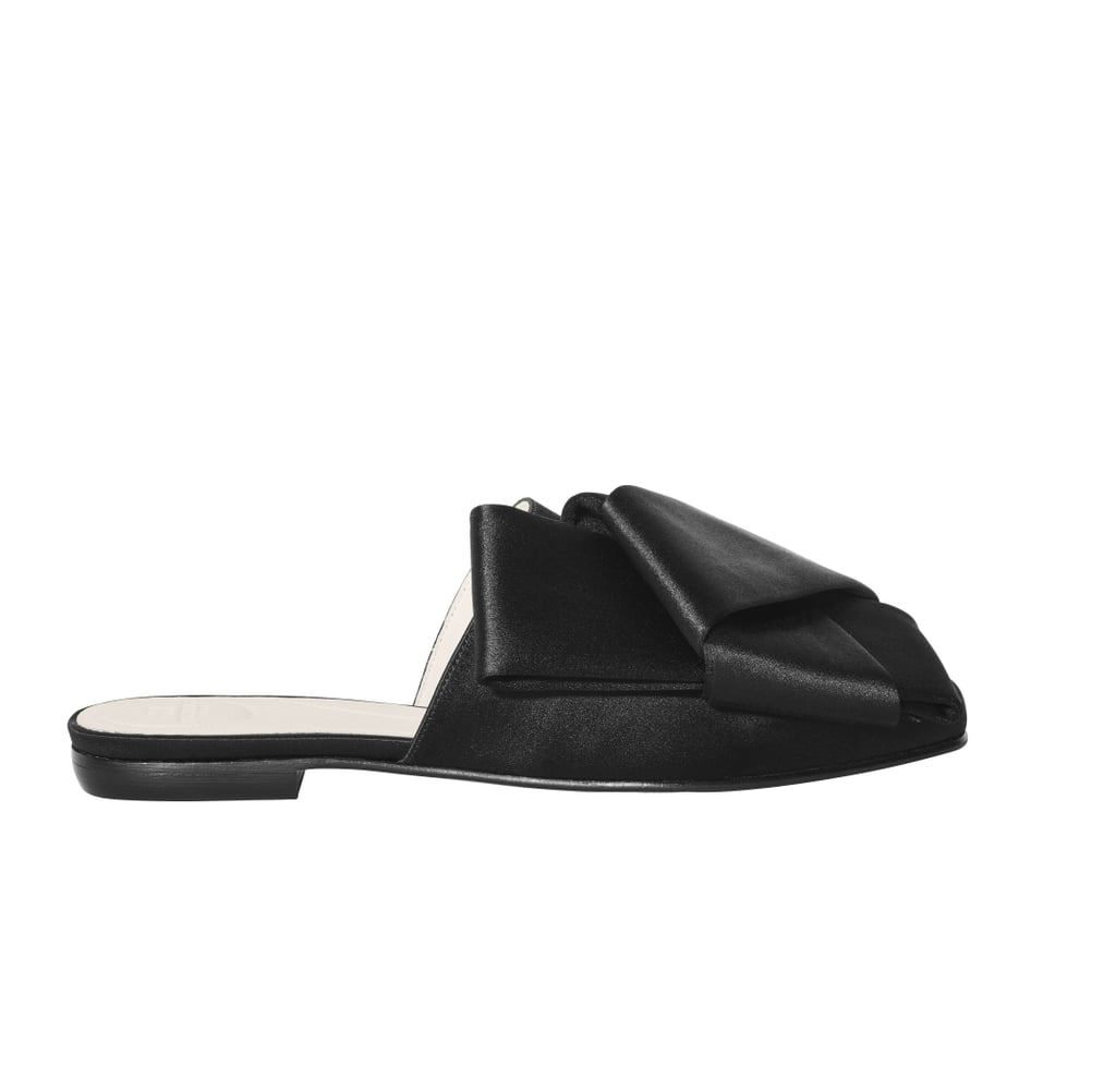 H&M Conscious Collection Silk Blend Slip-On Sandals (Sold Out)