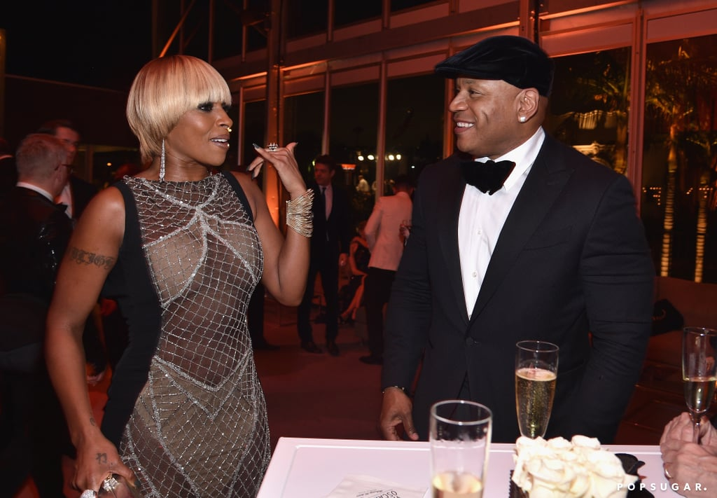 Pictured: LL Cool J and Mary J. Blige