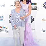Katy Perry Brought Her Grandmother as Her Date in 2012