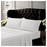 Egyptian Cotton Deep Pocket 4-Piece Solid Sheet Set