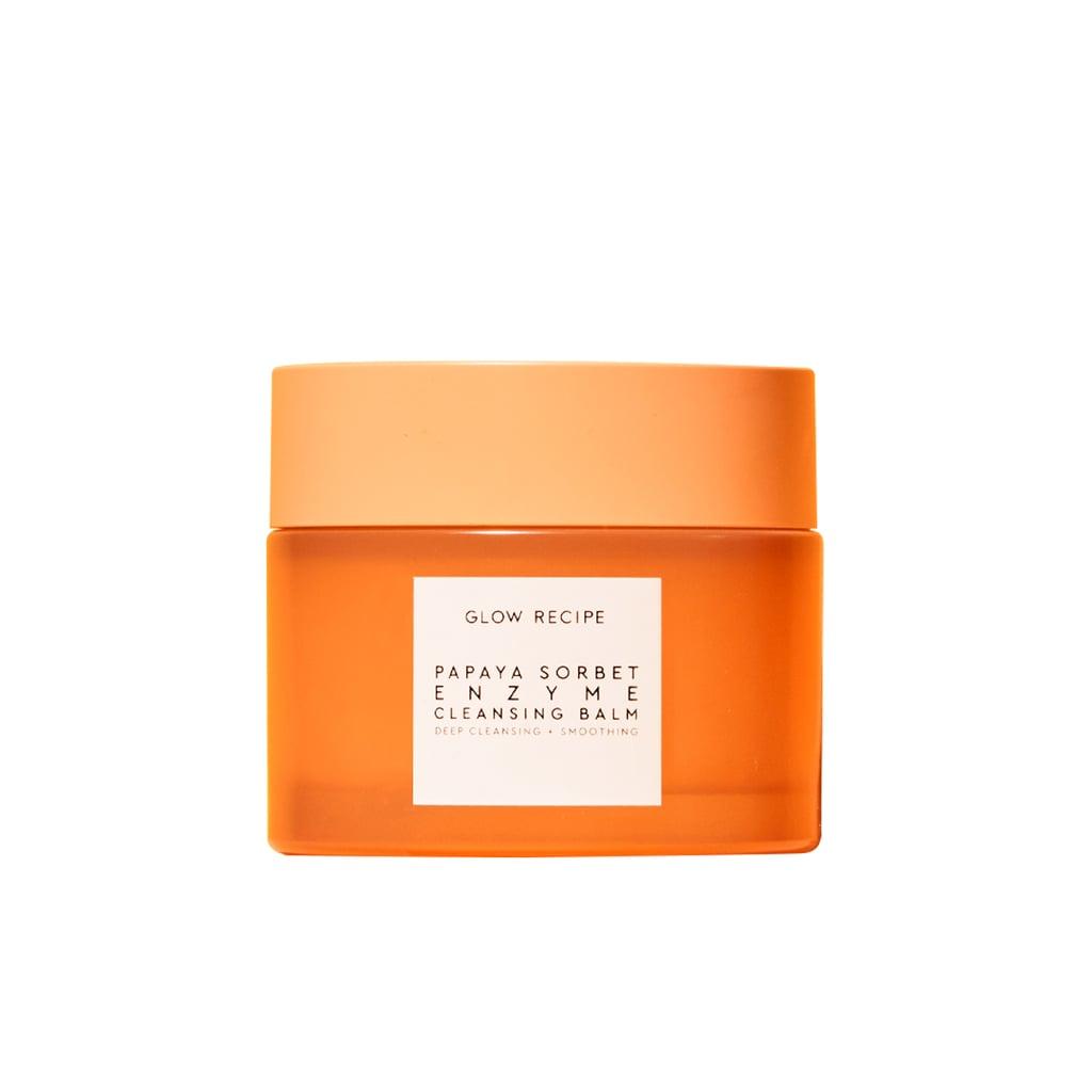Glow Recipe Papaya Sorbet Smoothing Enzyme Cleansing Balm & Makeup Remover