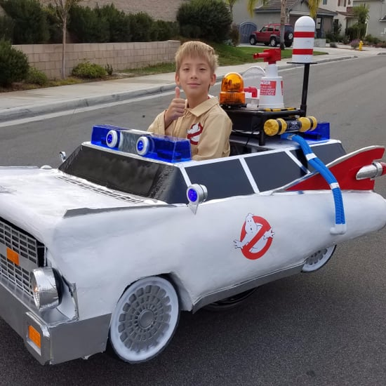 Dad Builds Amazing Ghostbusters Wheelchair Costume