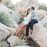 Mojave Desert Engagement Photos