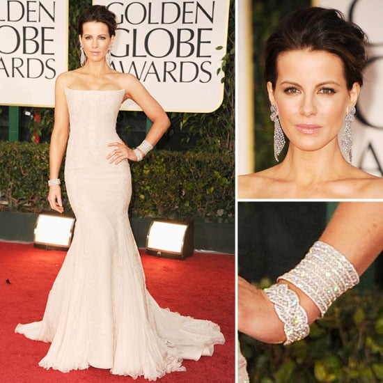 Kate Beckinsale Wears Roberto Cavalli for the 2012 Golden Globes. Do You Rate It?