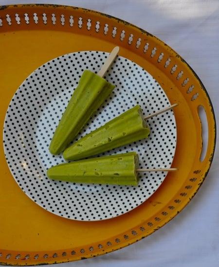 Avocado Coconut Creamsicles