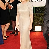 Amy Poehler at the Golden Globes.