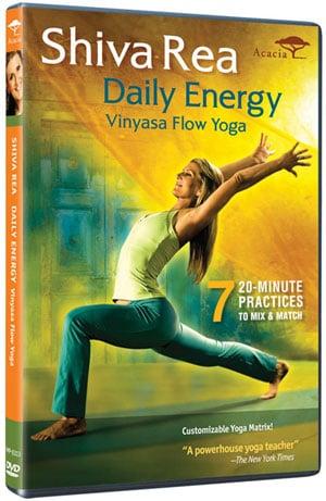 Review of Shiva Rea's Daily Energy Vinyasa Flow Yoga DVD