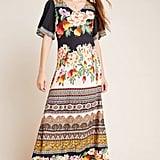 Farm Rio for Anthropologie Esmeralda Floral Maxi Dress