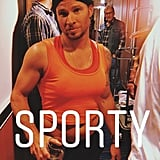 Here's Brian Littrell Rockin' the Athleisure Trend as Sporty Spice