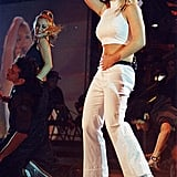 Britney took the stage at the 1999 Teen Choice Awards in LA.