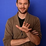 Aaron Ashmore looked dapper on Monday.