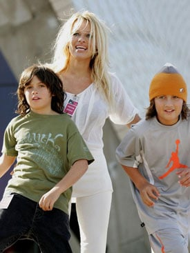 Lil Links: Pam Anderson Talks Sex Tape With Sons