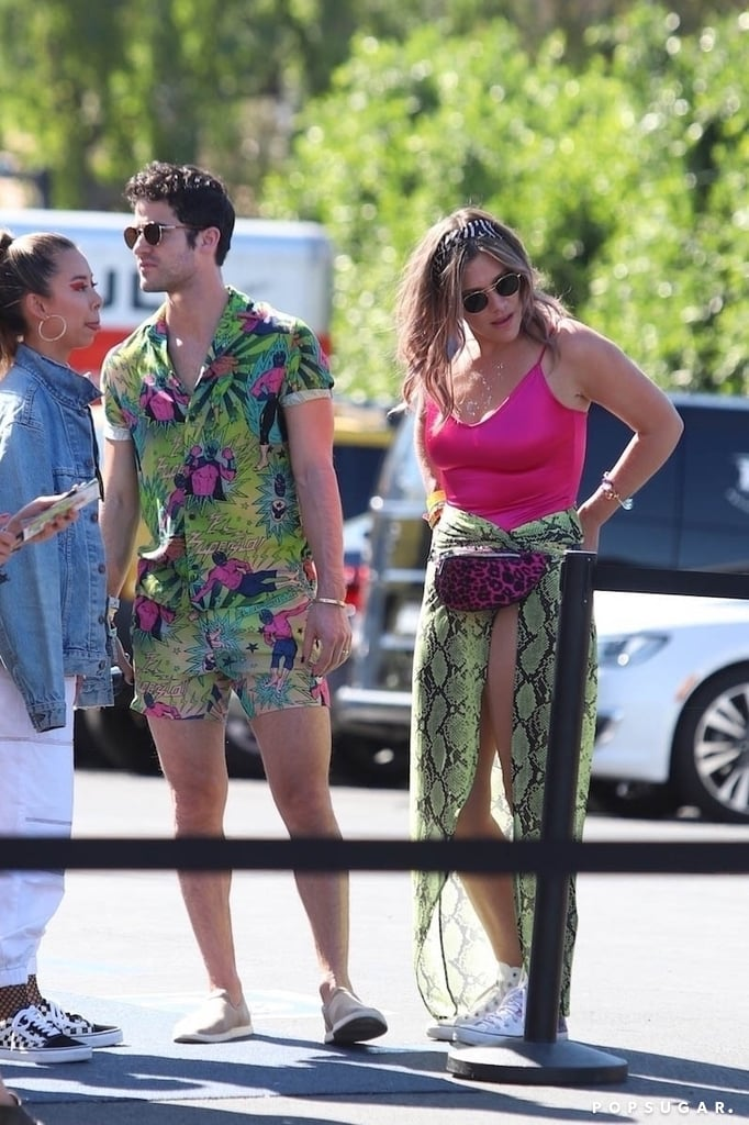 Darren Criss and Mia Swier at Coachella 2019